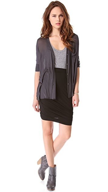 DKNY Pure DKNY Twist Skirt