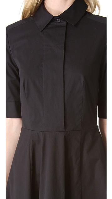 DKNY Trapunto Stitch Shirtdress