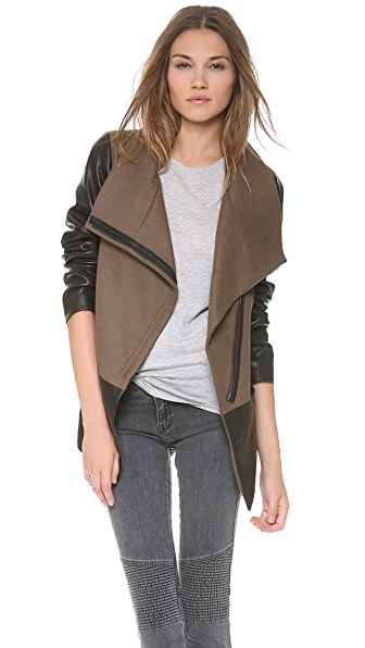 DKNY Pure DKNY Mixed Media Coat