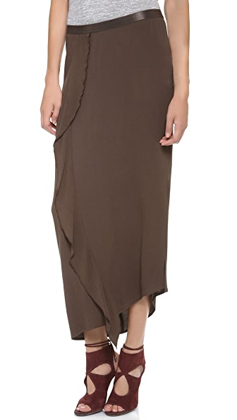 DKNY Pure DKNY Cascade Maxi Skirt