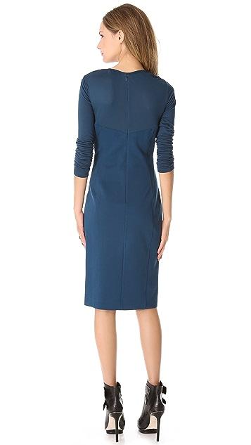 DKNY Modern Long Sleeve Dress