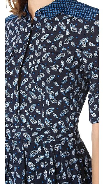 DKNY Button Thru Shirtdress
