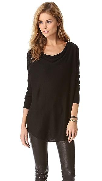 DKNY Cowl Neck Sweater
