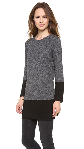 DKNY Crew Neck Sweater Tunic