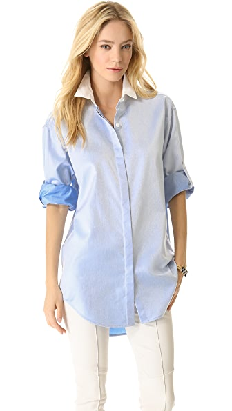 DKNY Long Sleeve Button Down