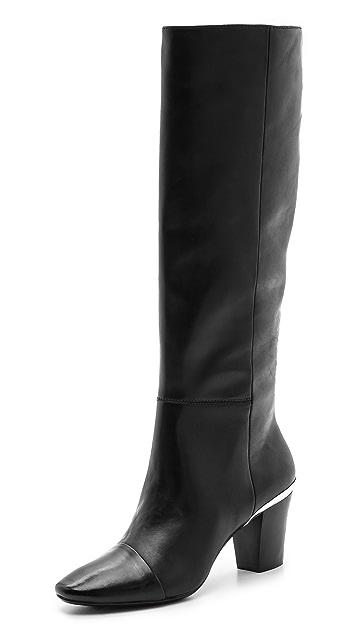 DKNY Marion Mid Heel Tall Boots