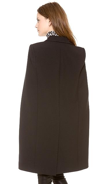 DKNY Long Sleeve Cape