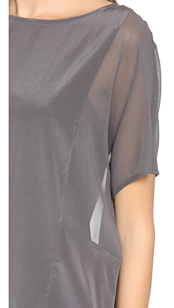 DKNY Drop Shoulder Blouse