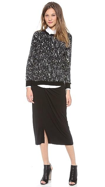 DKNY Pure DKNY Pull On Skirt
