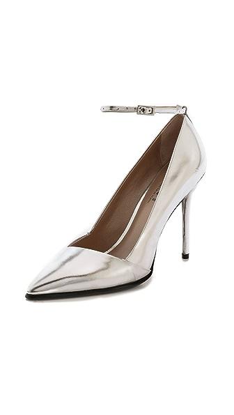 DKNY Saffie Ankle Strap Pumps