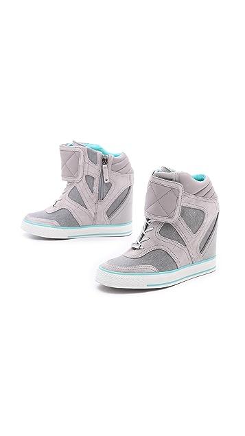 DKNY Gracie Wedge Sneakers