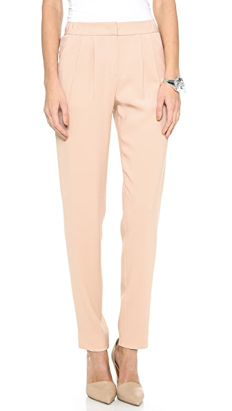 DKNY Pleat Front Narrow Pants