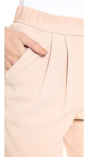 DKNY Pleat Front Narrow Pants
