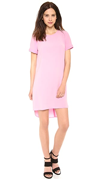 DKNY Short Sleeve T-Shirt Dress