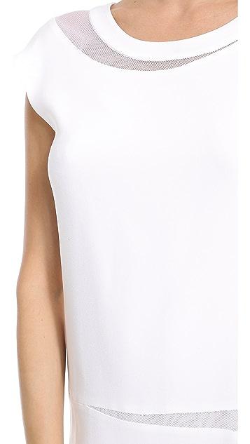 DKNY Asymmetrical Sleeveless Dress