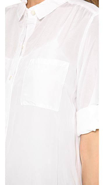 DKNY Pure DKNY Long Sleeve Shirtdress