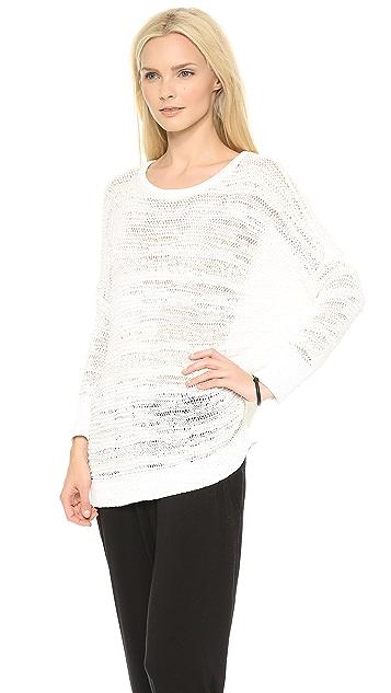 DKNY Pure DKNY Textured Pullover