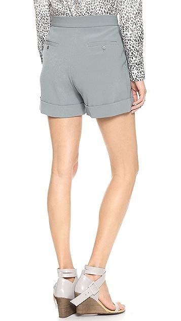 DKNY Pleated Shorts