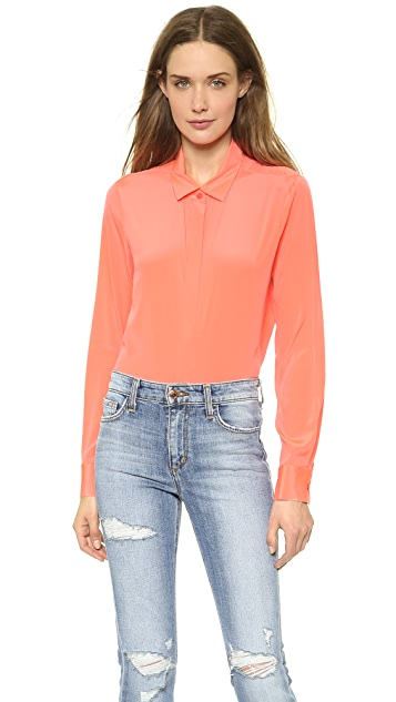 DKNY Long Sleeve Blouse