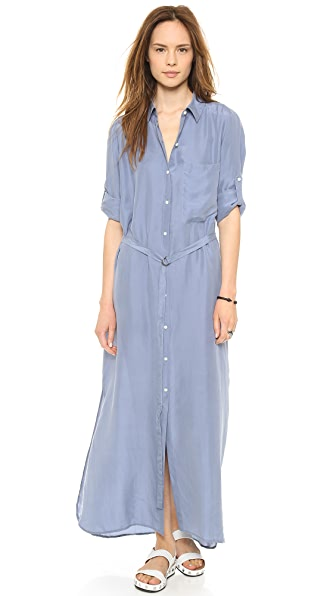DKNY Pure DKNY Maxi Shirt Dress  SHOPBOP