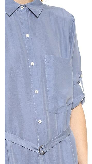 DKNY Pure DKNY Maxi Shirt Dress