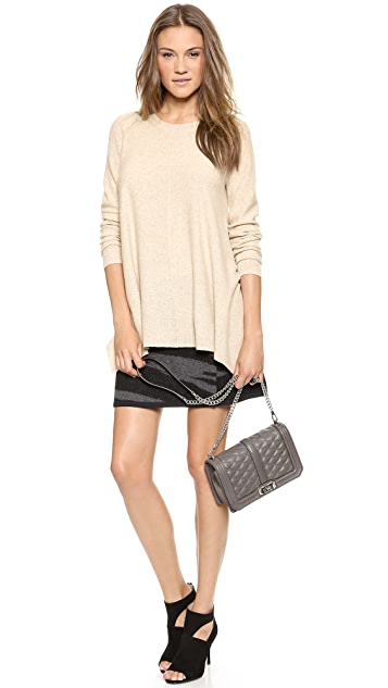 DKNY Long Sleeve Trapeze Pullover