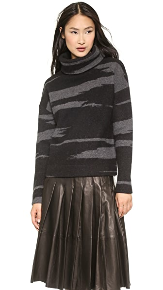 DKNY Long Sleee Turtleneck Pullover