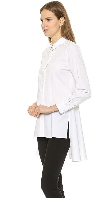 DKNY Long Sleeve Button Thru Shirt