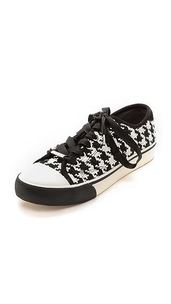 DKNY Barbara Houndstooth Sneakers