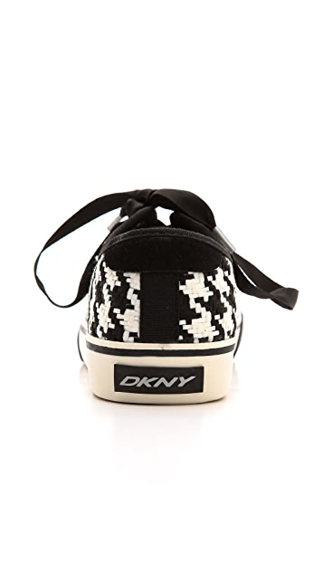 DKNY Barbara Houndstooth Sneakers