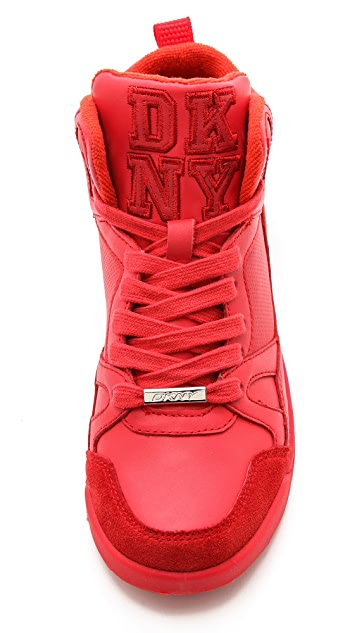 DKNY Cleo High Top Sneakers