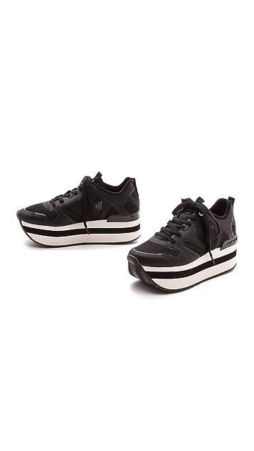 DKNY Jessica Runway Platform Sneakers