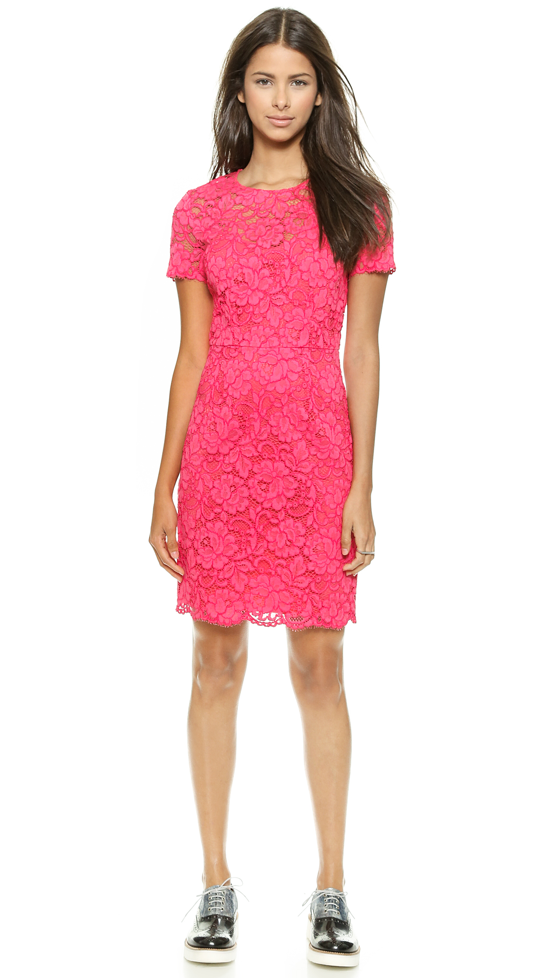 Dkny Lace Sheath Dress Shopbop