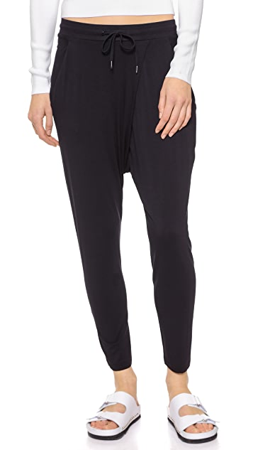 DKNY Cropped Pull On Harem Pants