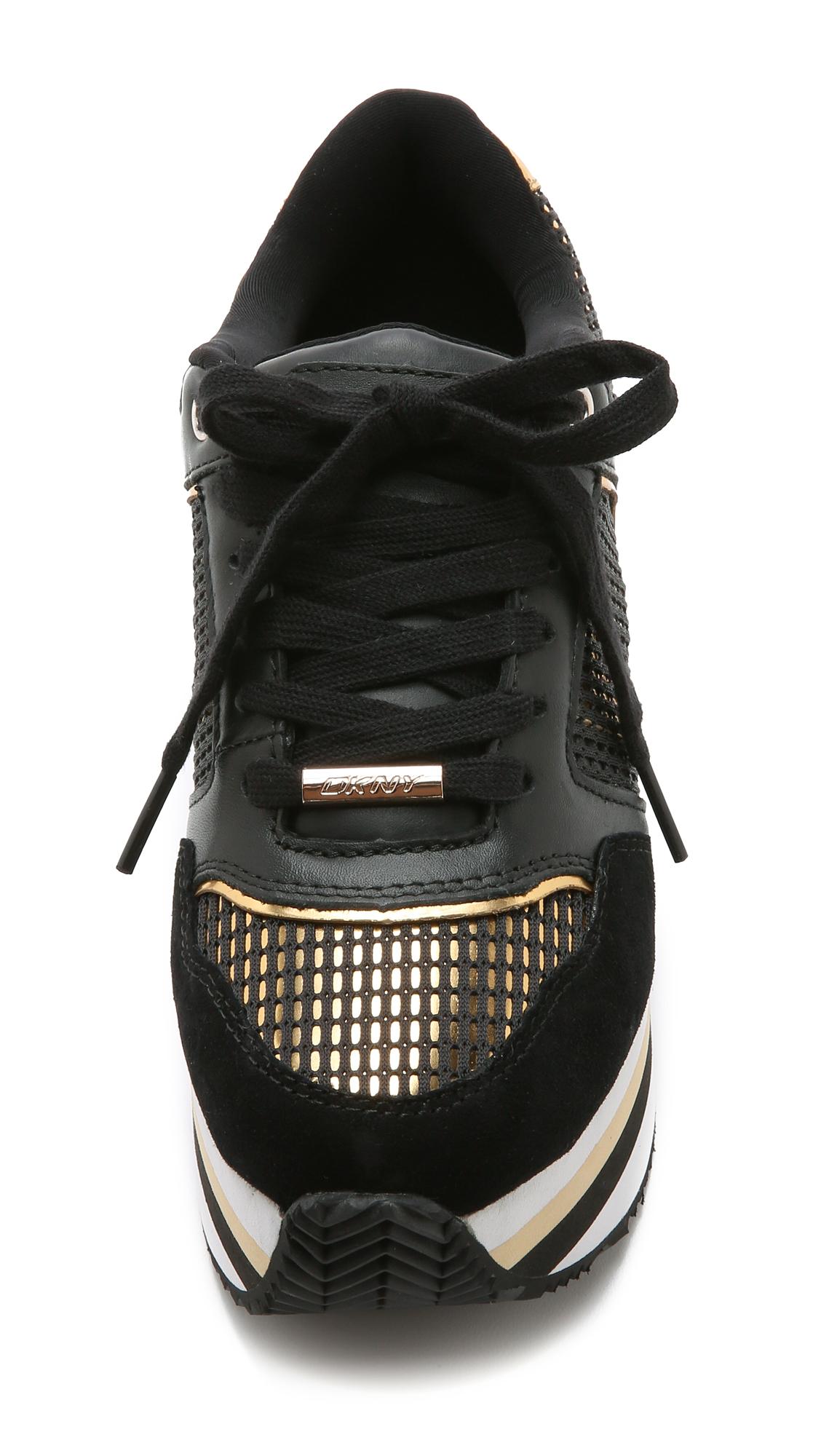 65c921dbb93 DKNY Jill Runway Platform Sneakers