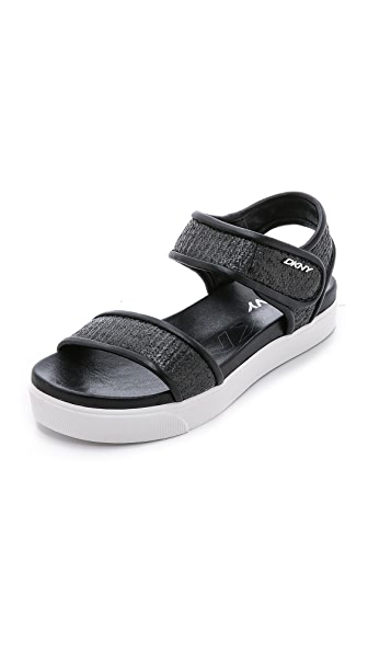 DKNY Belinda Flatform Sandals