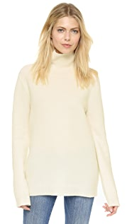 DKNY Long Sleeve Turtleneck Sweater