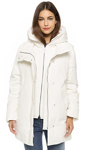DKNY Pure DKNY Double Puffer Coat