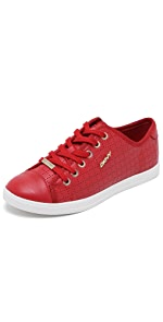 Blair Lace Up Sneakers                DKNY