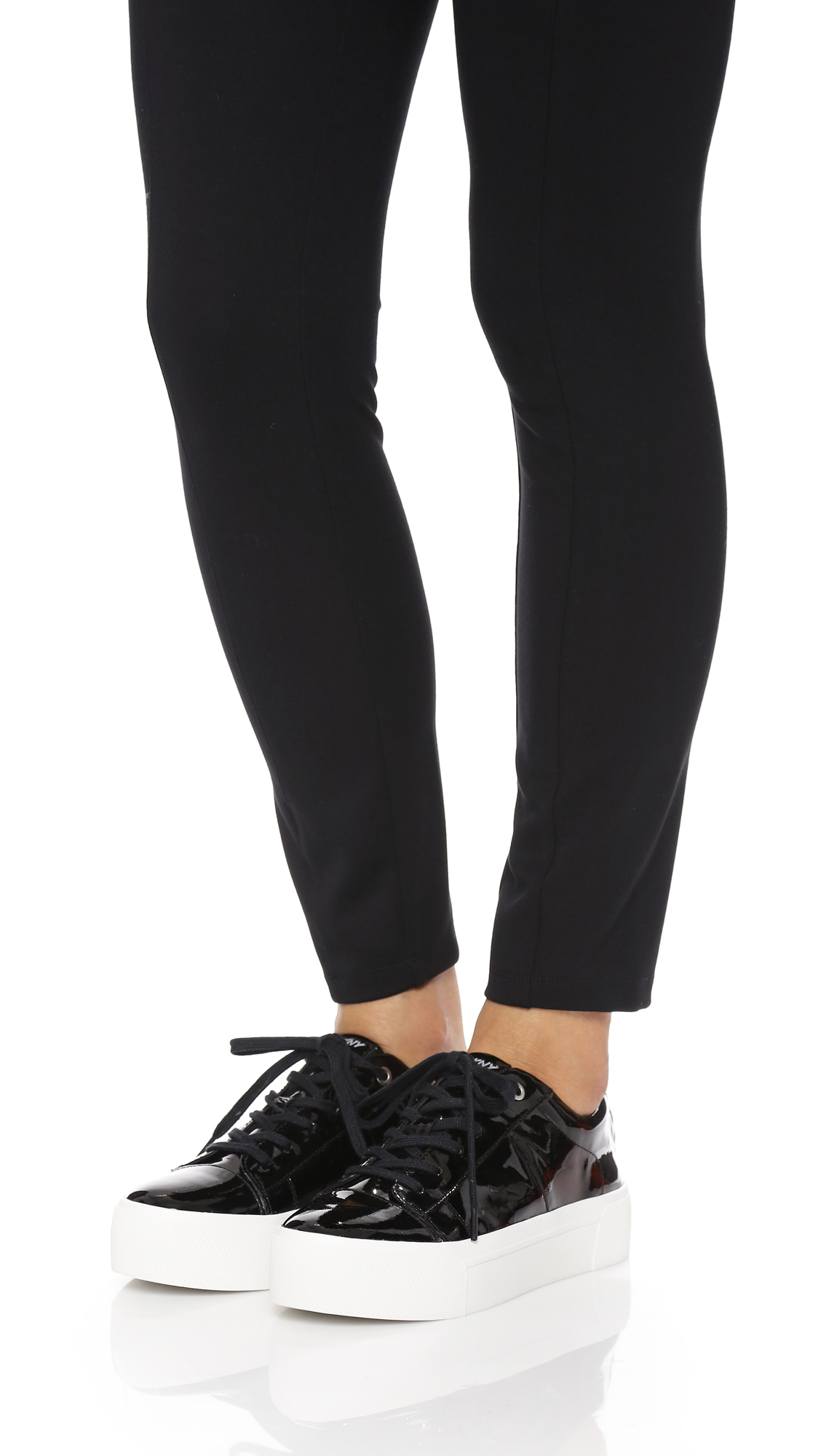 8364aab0839 DKNY Bari Platform Lace Up Sneakers