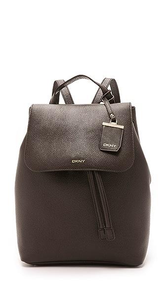 DKNY Ego Leather Backpack