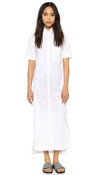 DKNY Pure DKNY Maxi Shirtdress at Shopbop