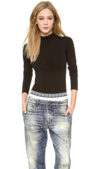 DKNY x Opening Ceremony Long Sleeve Crew Neck Bodysuit