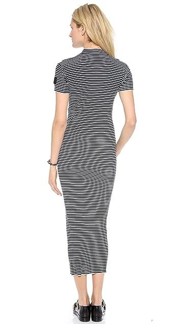 DKNY x Opening Ceremony Striped Maxi Dress