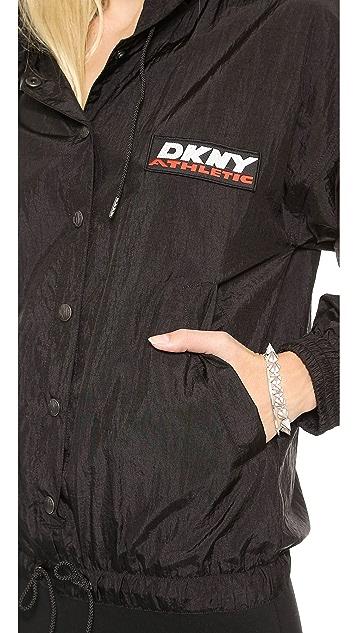 DKNY x Opening Ceremony Hooded Long Sleeve Dress
