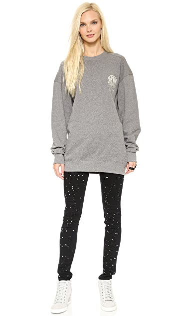 DKNY x Opening Ceremony Long Sleeve Crew Neck Pullover