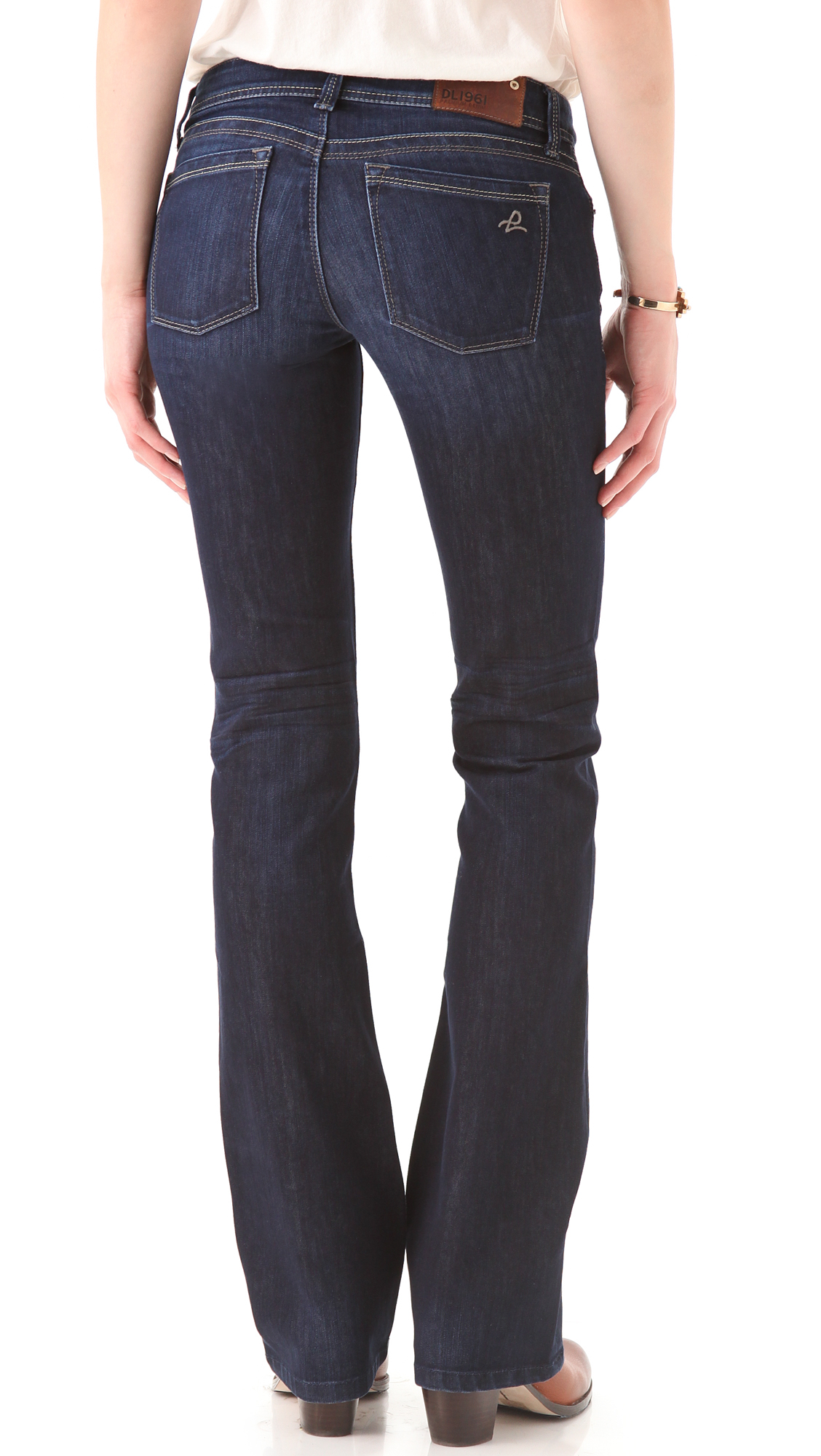 2b00169f9bd75 DL1961 Milano Boot Cut Jeans | SHOPBOP