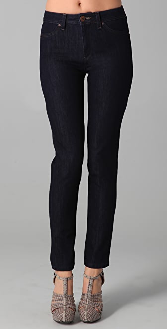 DL1961 Nina Super High Rise Skinny Jeans