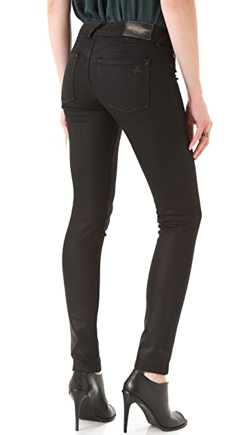 DL1961 Amanda Coated Skinny Jeans