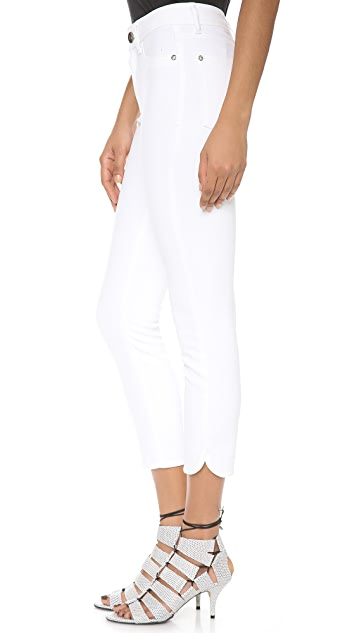 DL1961 Bardot Ultra High Rise Crop Jeans